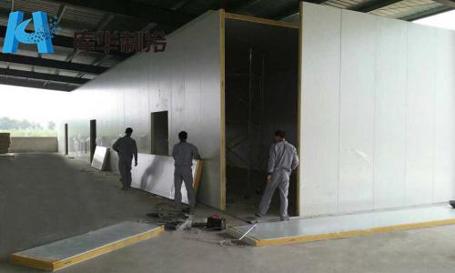 电气系统部分:冷库专用控制箱及辅件,冷风机电线,电气辅料,主机